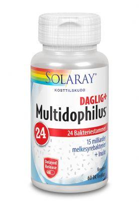 Solaray Multidophilus 24 Daglig+