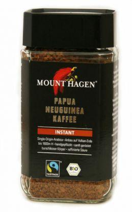 Mount Hagen instant pulverkaffe med koffein