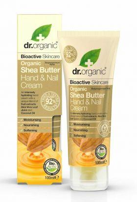 Dr. Organic Shea Hand & Nail Cream 100 ml