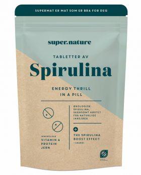 Supernature spirulina tabletter