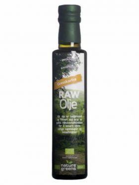 Raw Olje gresskarfrø