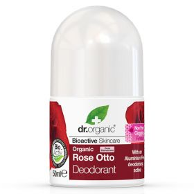 Dr. Organic Rose Otto deo 50 ml