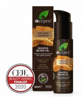 Dr. Organic Ginseng Shave & Beard oil 50 ml