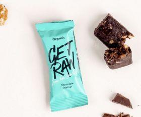 Get raw Chocolate + Walnut bar