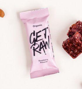 Get raw Raspberry + Almond bar