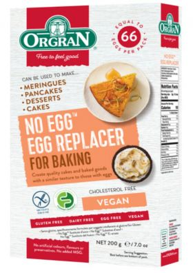 Orgran No Egg eggerstatning