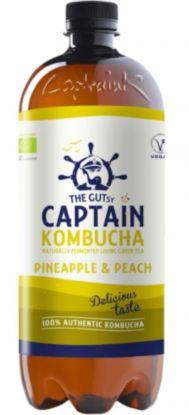 Captain Kombucha Pineapple Peach 1000 ml