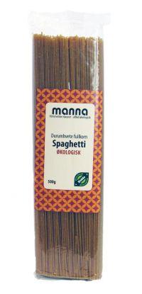 Pasta Spaghetti, fullkorn, durum