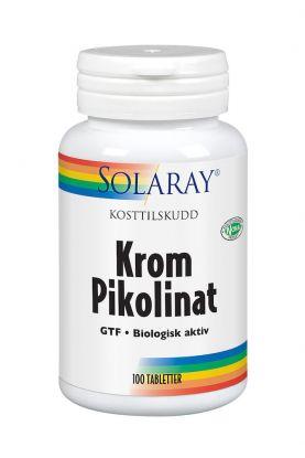 Solaray Krom Pikolinat