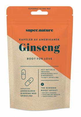 Supernature Amerikansk Hvit Ginseng