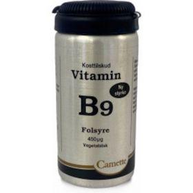 Camette Vitamin B9 Folsyre 450 µg