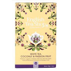 English Tea Shop white tea med kokos og pasjonsfrukt