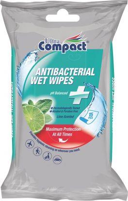 Antibacterial Wipes 15 Sheets